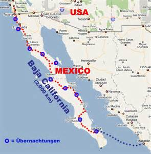 497 baja california map panamericana barbara volker