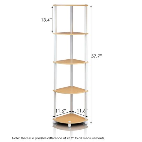 Corner Rack by Turn N 5 Tier Corner Display Rack