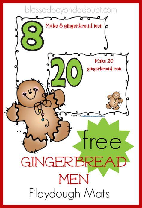 printable gingerbread man playdough mats gingerbread men playdough mats free recipe too