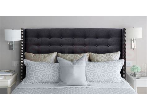 diy tufted wingback headboard diy tufted headboard onther design idea and decor wingback headboard king ideas