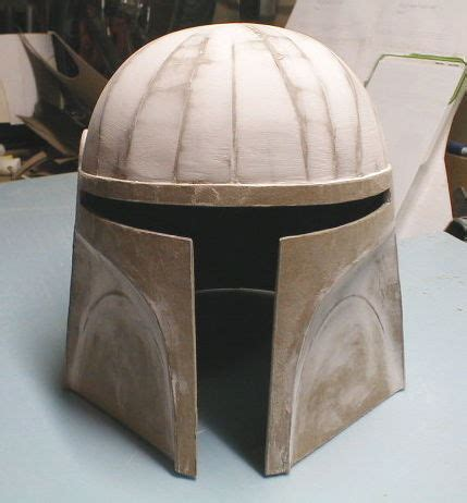 How To Make A Helmet Out Of Paper Mache - how to make a cardboard costume helmet