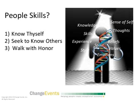 Skill With Poeple skills the of connection and influence