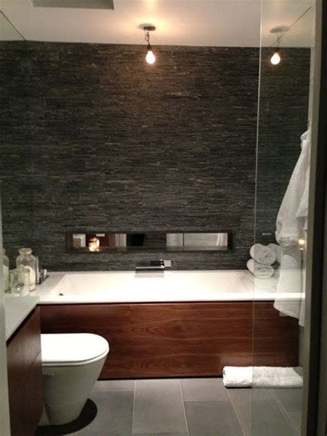 bathroom with slate tile 40 gray slate bathroom tile ideas and pictures