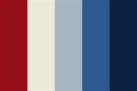 patriotic colors softer patriotic color palette