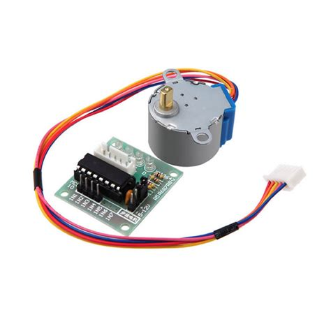 Uln2003 Stepper Motor Motor Stepper c0004 free shipping 2 sets 5v 4 phase stepper step motor driver board uln2003 with drive test