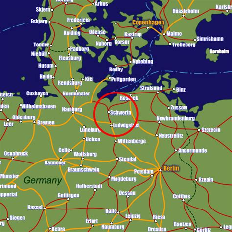 rail map germany schwerin rail maps and stations from european rail guide