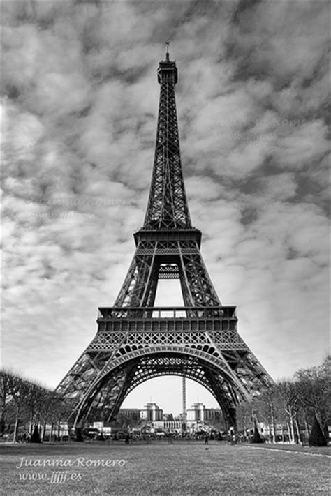 imagenes blanco y negro torre eiffel photo