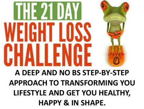 Get In Shape For Start Juicing by The 21 Day Weight Loss Challenge
