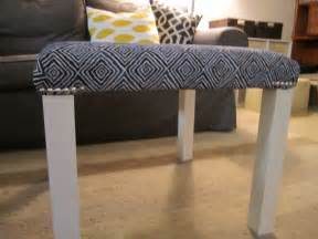 Lack Table Hack Upholstered Hack A Lack With Nailhead Trim Ikea Hackers