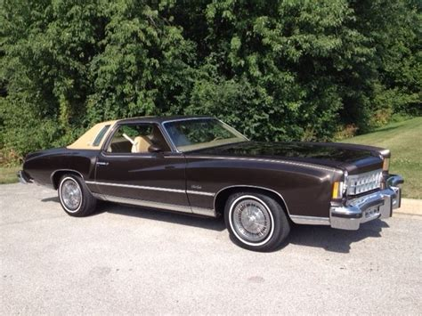 1975 chevrolet monte carlo seller of classic cars 1975 chevrolet monte carlo brown