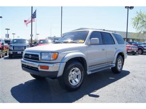 1998 Toyota 4runner Limited Specs 1998 Toyota 4runner Limited Data Info And Specs