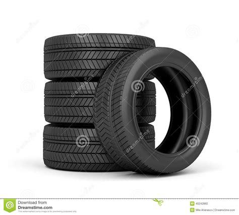 Auto Reifen by Autoreifen Stock Abbildung Bild Stapel Gummi