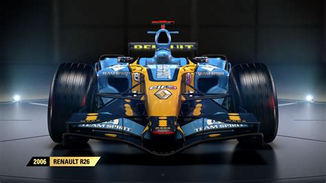 presenting the 2006 renault r26 the car to