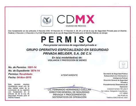 permiso por paternidad 2016 mexico permiso ssp grupo operativo en seguridad privada