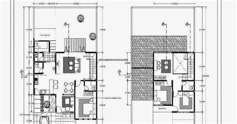 denah rumah minimalis modern design rumah minimalis