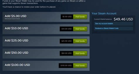 How To Add Money To Steam Wallet With Gift Card - steam community guide add custom funds to steam wallet