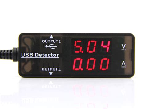 Usb Detector usb current voltage detector power supply seeed studio