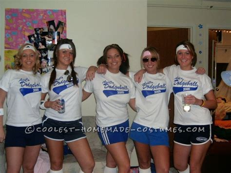halloween themed team names coolest 70 s dodgeball team college group costume