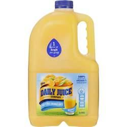 Daily Juice Daily Juice Pulp Free Orange Juice No Added Sugar 3l