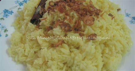 St Levita Kuning Kunyit nasi minyak simple 1st entry 2011 resepi minggu ini