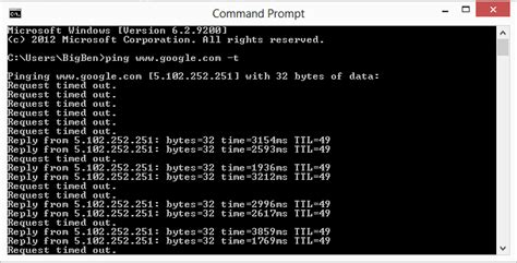 ping test cmd how to perform a ping test on windows fruitty
