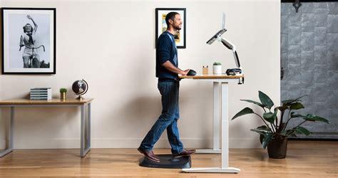 padded mat for standing desk ergodriven