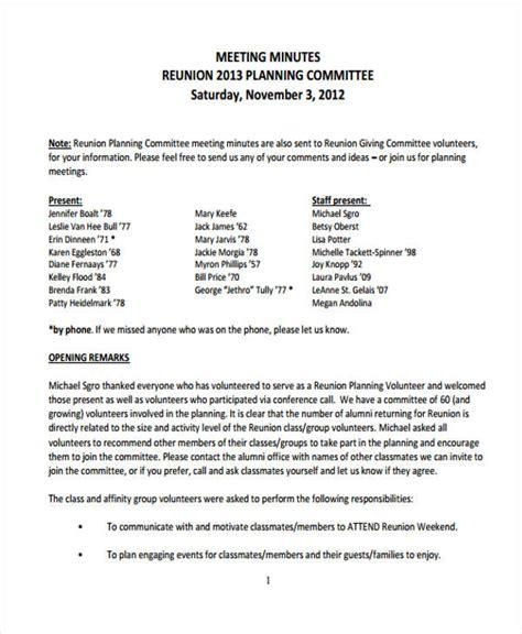 class reunion program template 9 reunion agenda templates free word pdf format
