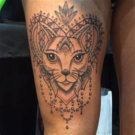 tattoo mandala katze image result for cat mandala tattoo silhouette