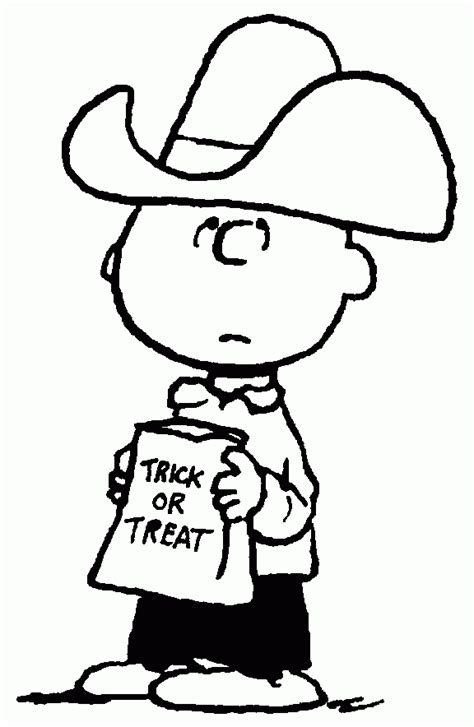 coloring pages charlie brown halloween charlie brown halloween coloring pages coloring home