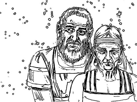 coloring page abraham and sarah abraham and sarah old sketch coloring page wecoloringpage