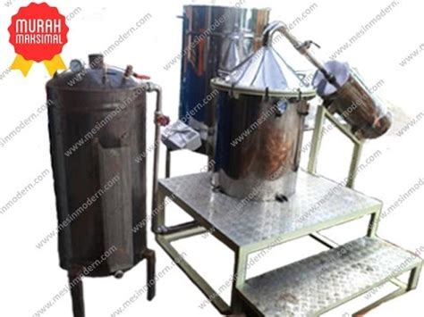 Mesin Destilasi Minyak jual mesin destilasi minyak atsiri