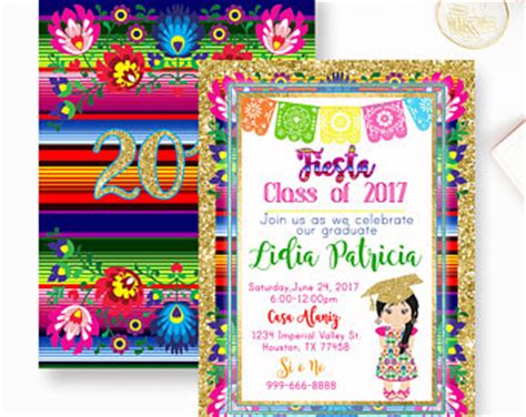 mexican themed quinceanera invitations quincea 241 era mexican fiesta invitationmexican quince invite