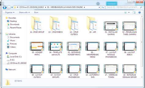 membuat aplikasi kuesioner online dvd tutorial membangun layanan sms online berbasis client