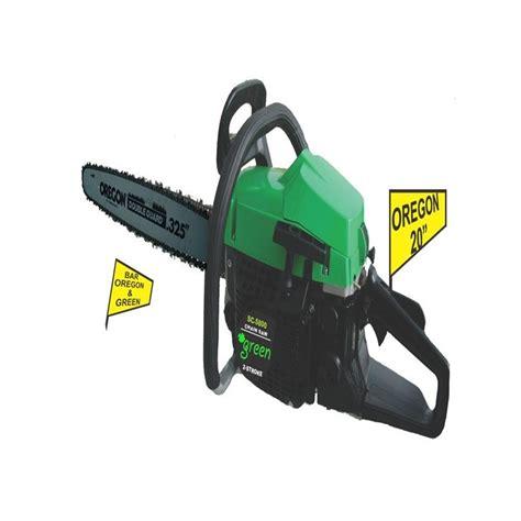 Daftar Gergaji Mesin Kayu harga jual green ou gs5800 mesin gergaji kayu chainsaw 20 inch