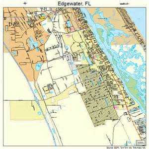 edgewater florida map 1219825