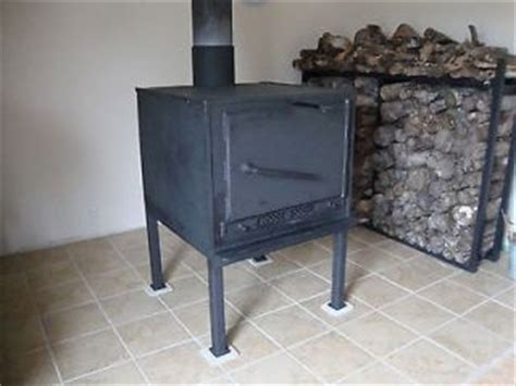 Handmade Wood Stove - wood burning fireplace insert in fireplaces stoves