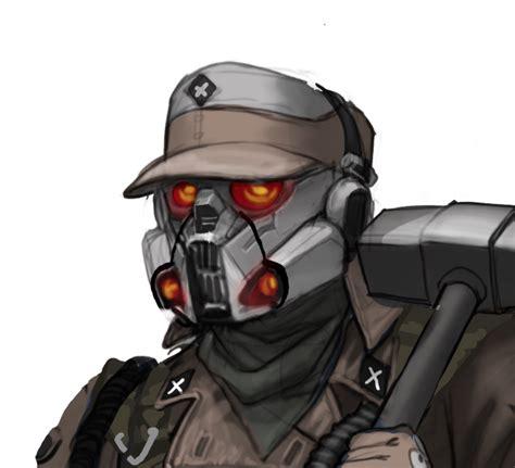 mask layout engineer emorobo helghast combat engineer