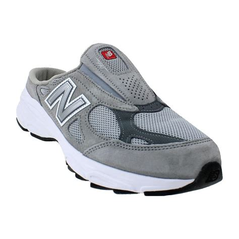 new balance m990sg3 slip on grey leather mesh s shoe