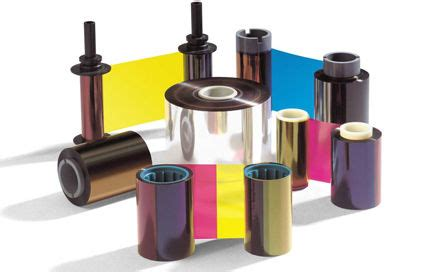 Ribbon Color Dtc1000 original fargo dtc 45000 ribbon dtc1000 c30 printer ribbon