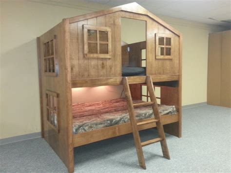 fort bunk bed full size fort bunk finewoodworking