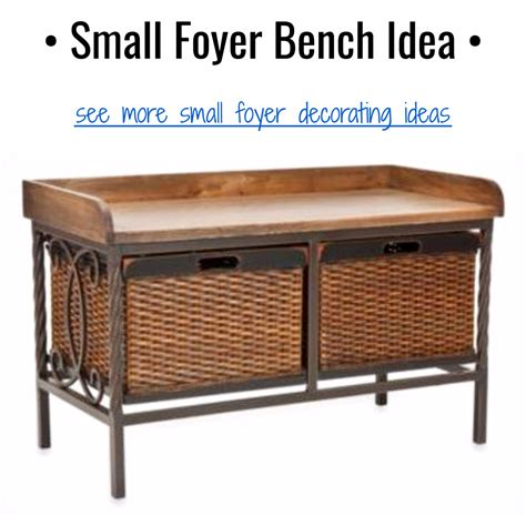 small foyer bench diy entryway ideas for small foyers and apartment