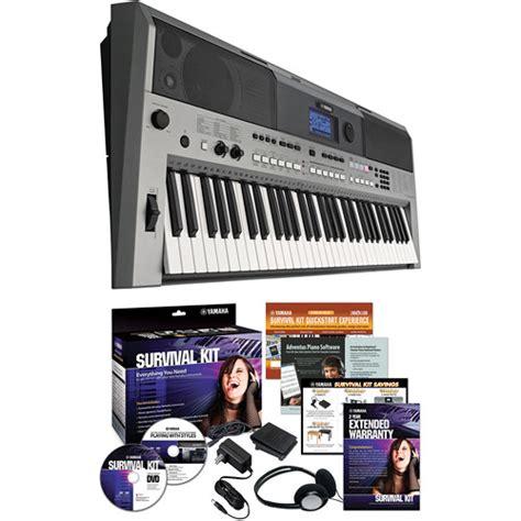 Keyboard Yamaha E443 yamaha psr e443 portable keyboard with survival kit psre443 kit