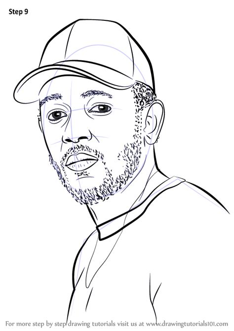 coloring book kendrick lamar coloring drawing of rappers coloring pages
