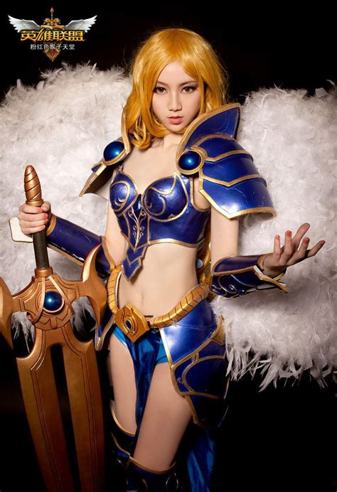 kayle cosplay  great warrior  league  legends