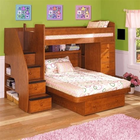 L Shaped Low Bunk Beds Low Ceiling Bunk Beds Wooden L Shaped Bunk Beds With Space Saving Features Photo 33 Bed