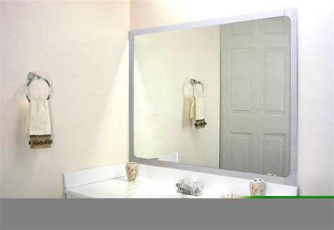 bathroom mirror framing kits mirror frame kit pictures to pin on pinterest pinsdaddy