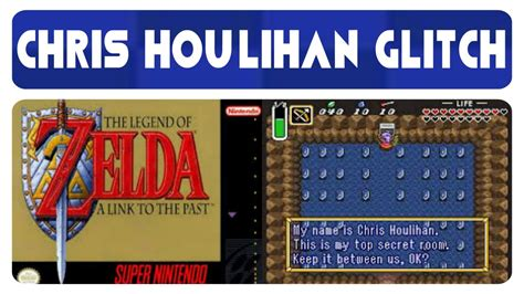 chris houlihan room a link to the past chris houlihan room glitch