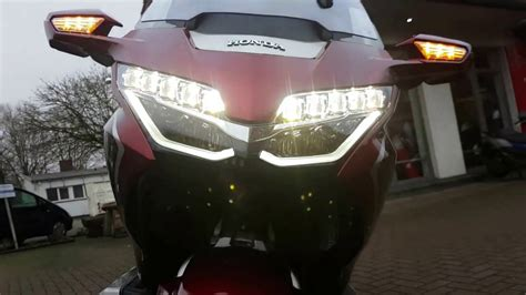 Motorrad Tour Bremen by Honda Gold Wing 2018 Tour Deluxe Dct Walk Around Video