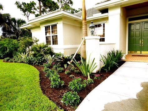 Front Yard Landscaping Ideas Florida Vero Fl Front Yard Landscape Tropical Landscape Orlando By Construction Landscape