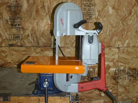 Milwaukee Porta Band To Vertical Band Saw Mounting Plate